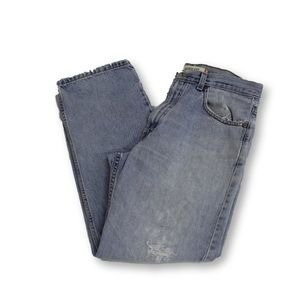Other - Vintage Distressed Levis 550 Straight Leg Jeans